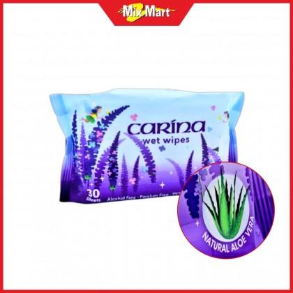 Carina Wet Wipes 30's